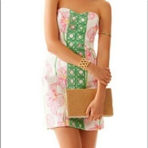 New Lilly -Angela Dress - resort white clover cup